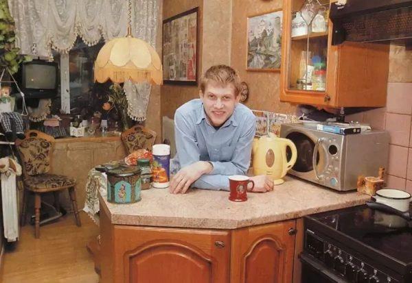Уютная кухня Бориса Корчевникова