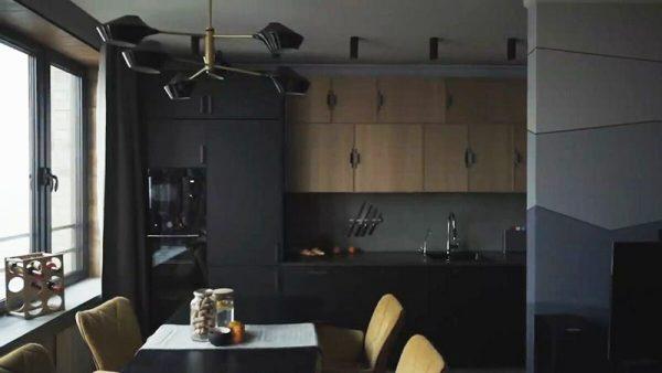Кухня в квартире Козловского