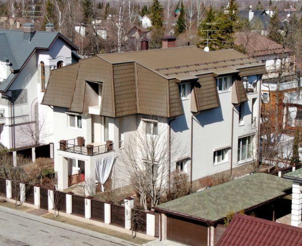 Трехэтажный дом Ирины Салтыковой