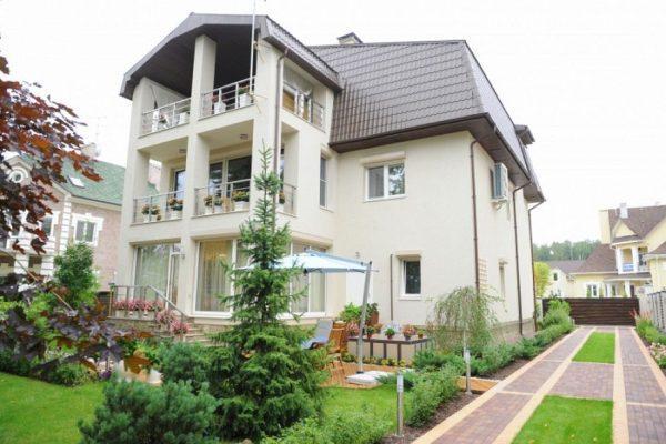 Дом Ирины Салтыковой на Рублевке