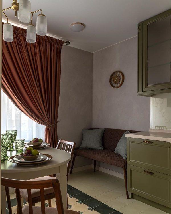 Интерьер кухни в квартире Васильева
