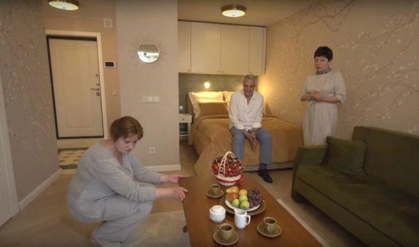 Новое жилье Анатолия Васильева