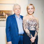 Олег Табаков с женой