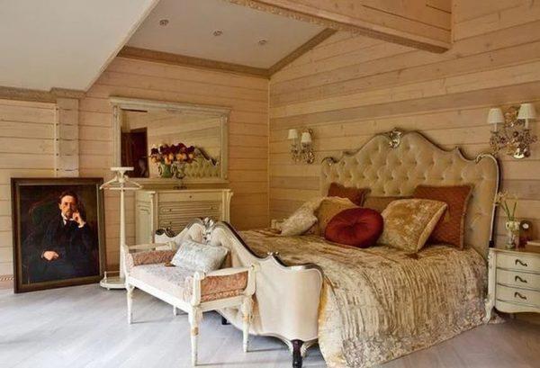 Уютная спальня в доме Табакова
