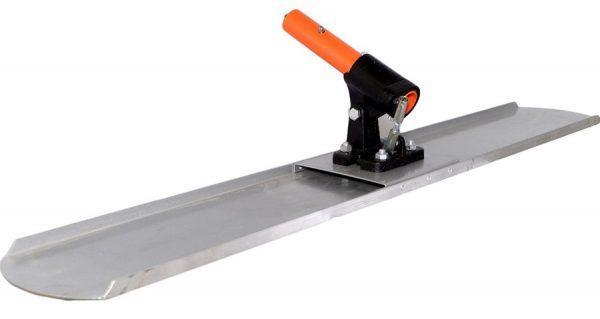 Телескопическая гладилка для бетона