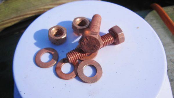 Меднение металлических деталей