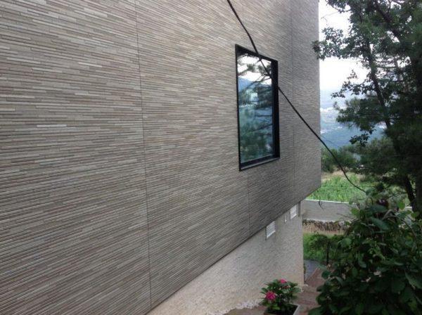 Японские фиброцементные фасадные панели NICHIHA