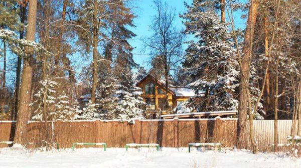 Загородный дом Газманова в Серебряном Бору