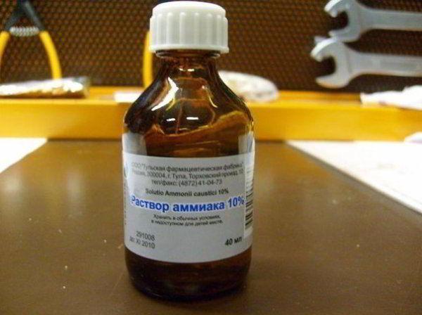10% раствор аммиака