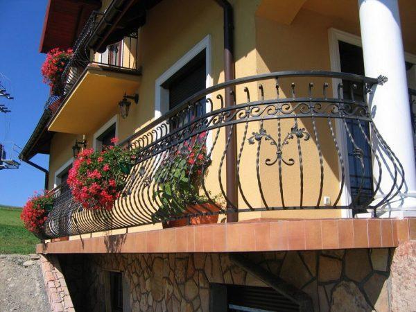 Балкон в частном доме