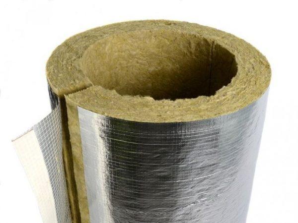 Базальтовый картон для изоляции дымоходов