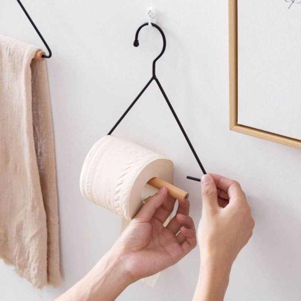 Простой держатель для бумажных полотенец