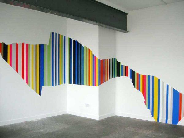 6 креативных способов нанесения краски на стену