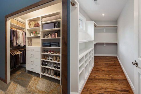 Кладовая и гардеробная в частном доме