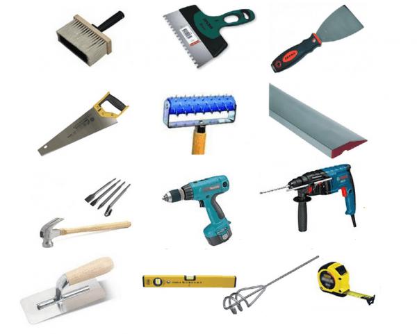 Инструменты для мокрого фасада