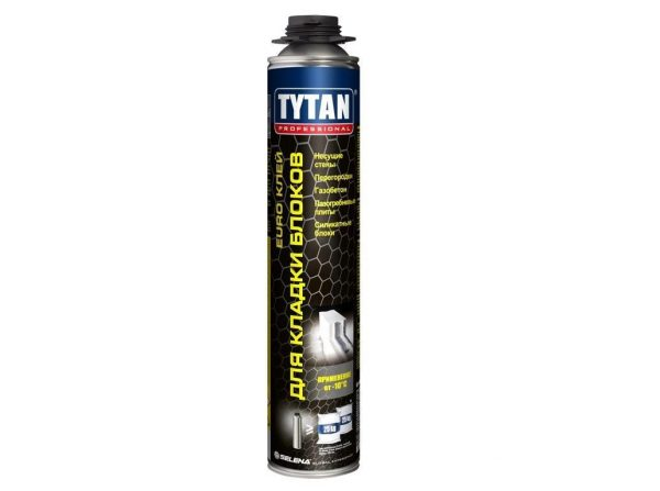 Клей TYTAN Professional EURO для кладки блоков
