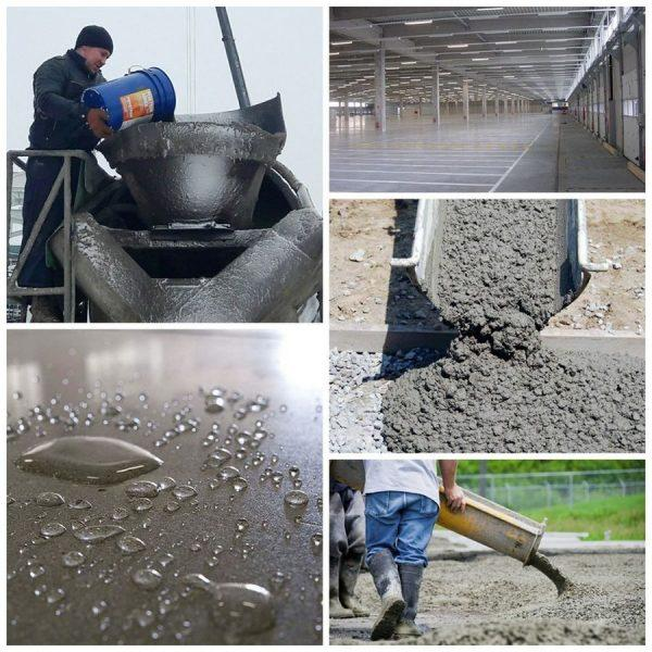 Введение противоморозных добавок в бетонный раствор