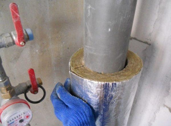 Шумоизоляция канализационного стояка
