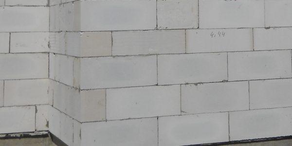 Швы в стенах из газобетона