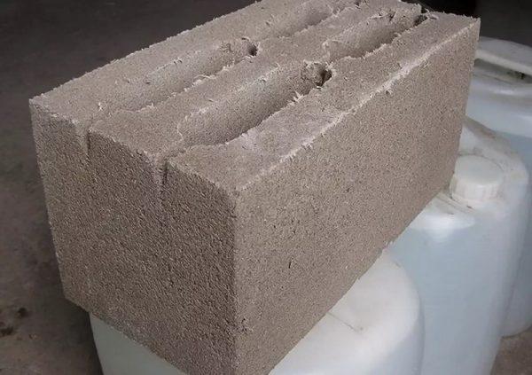 Стеновой опилкобетон