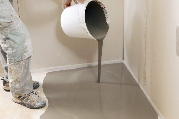 Укрепление бетонного пола жидкими составами