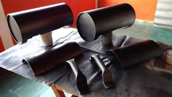 Детали ящика из трубы для инструментов