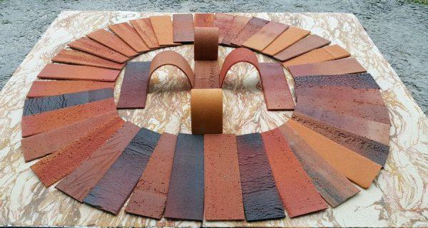 Гибкий камень клинкерный кирпич