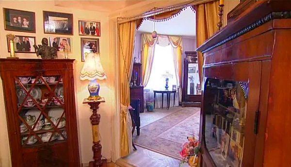 Квартира оформлена в силе Прованс