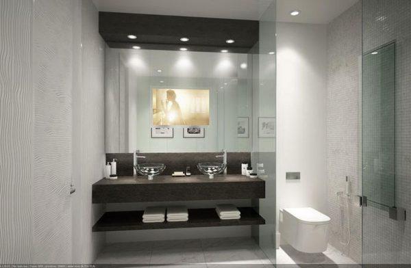 Ванная в квартире Маши Малиновской