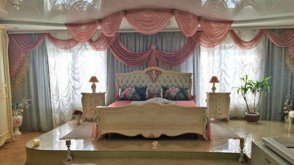 Спальня в квартире Малиновской
