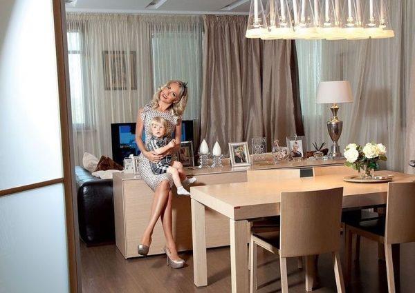 Кухня в квартире Малиновской
