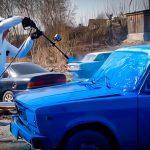 Покраска авто с помощью Керхера