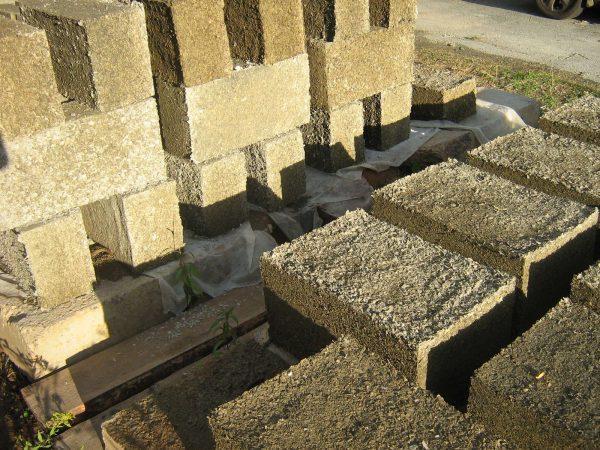 Строительные блоки из опилок