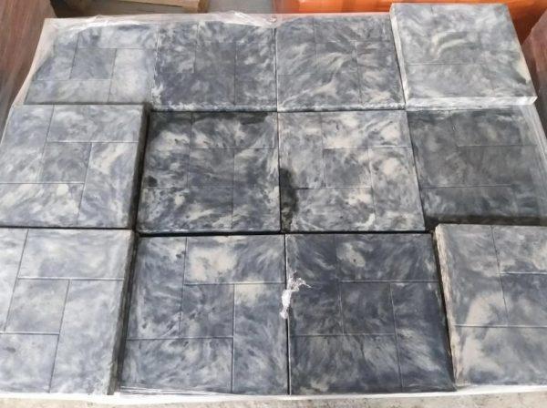Тротуарная плитка из мраморной крошки