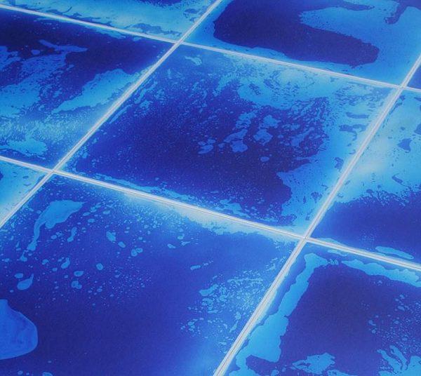 Жидкая плитка с эффектом мягкого свечения в темноте