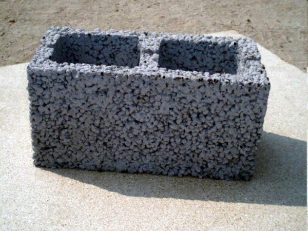 Блок аглопоритобетона