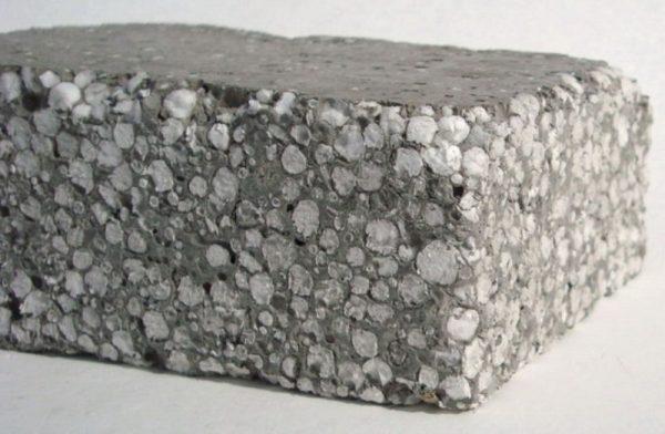 Блоки с пенопластовой крошкой