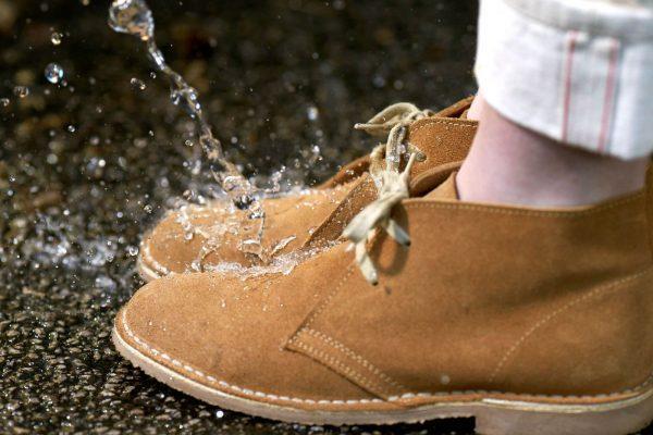 Гидрофобная защита обуви