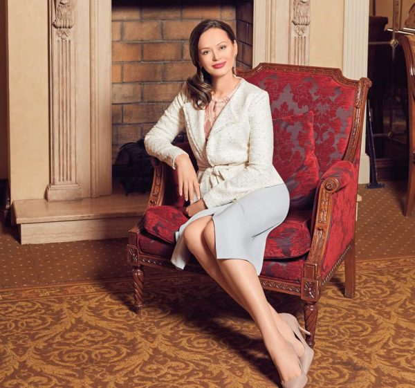 Ирина Безрукова в своей квартире