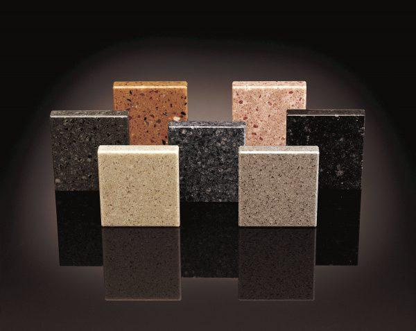Изделия из бетона с полимерными связующими