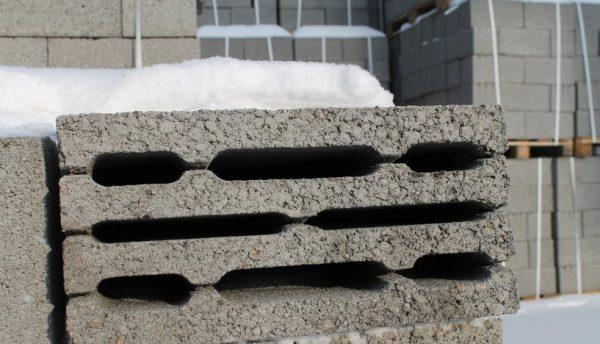 Керамзитобетонные блоки М50