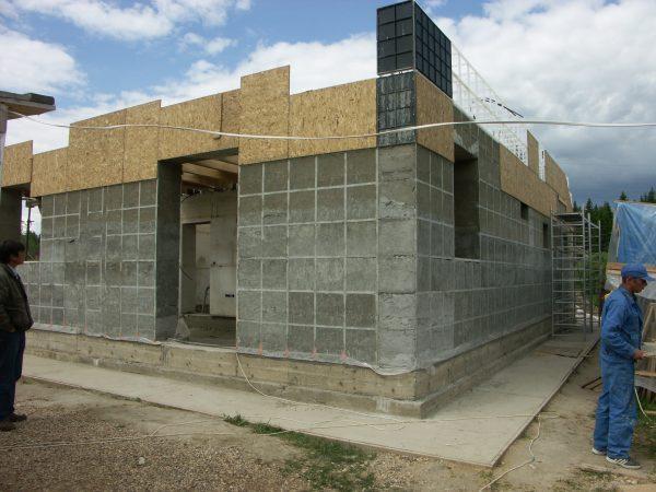 Монолитный керамзитобетонный дом