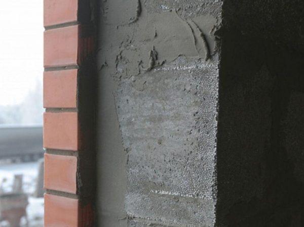 Оштукатуривание стен из полистиролбетона
