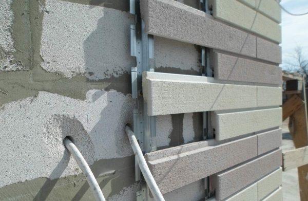 Отделка фасада из газобетонных блоков