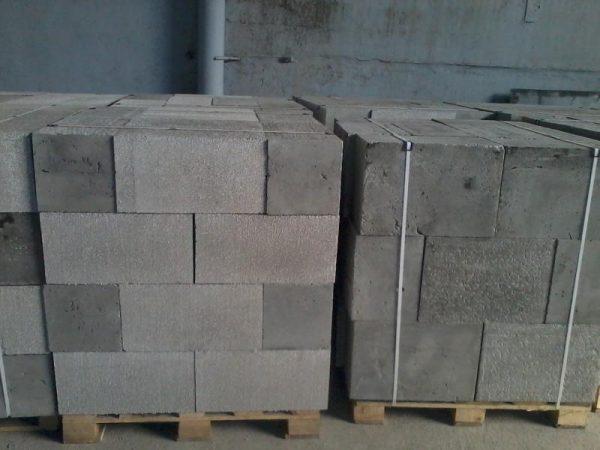 Полистиролбетонные блоки D 600