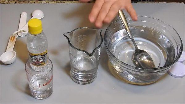 Приготовление раствора уксусной кислоты