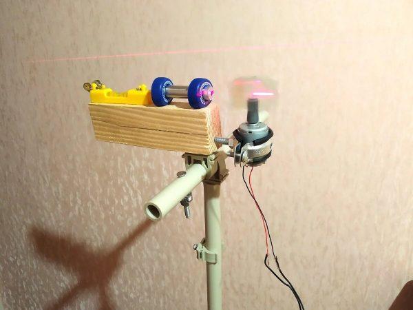 Самодельный лазерный нивелир
