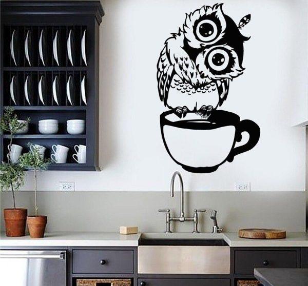Трафареты для кухни на стену