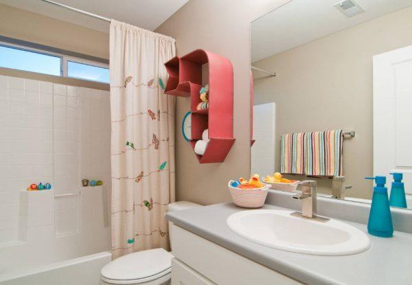 Ванная комната для малышей