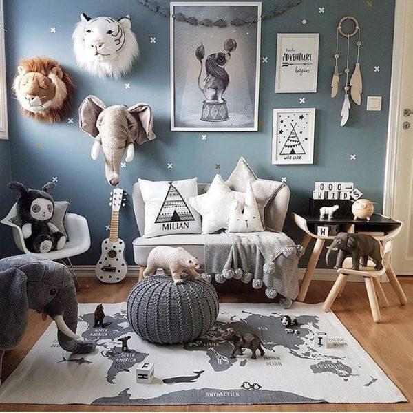 Дизайнерские элементы с АлиЭкспресс для детской комнаты